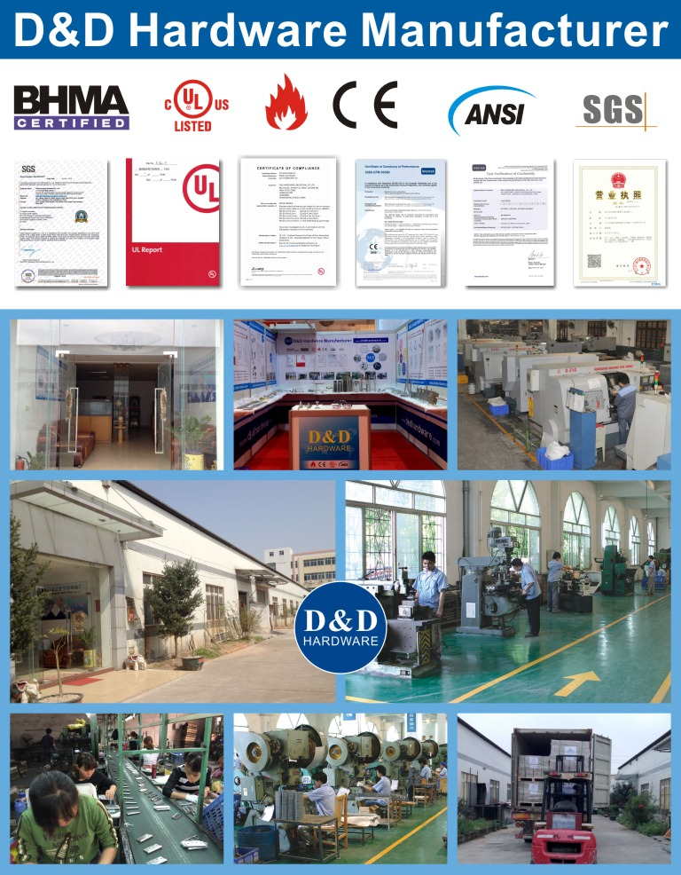 architectural hardware manufacturer-D&D hardware China